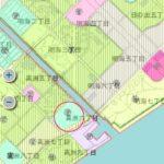 高洲海沿いに建設される三菱地所の大規模マンション
