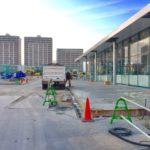 2/25 新浦安大和ハウス商業施設の工事進捗