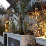 アイルズPalmの南国リゾート風のテラス