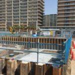 3/20 了徳寺東側ホテルの工事進捗