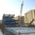 了徳寺跡地ホテルの建設状況
