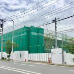 7/2 アクロスプラザ浦安東野区画の建設が進んでいます