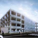 浦安市役所に220台の立体駐車場が整備開始!
