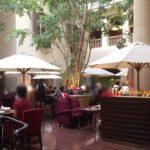 とってもお得で豪華なオリエンタルホテル内の「ブローニュの森」でのランチ