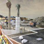 アイルズの最後の開発区域の建設が進行中