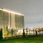 高級ホテルらしい東京ベイホテルの堂々とした外観