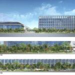 日の出6丁目順天堂大学の校舎計画が公表されました
